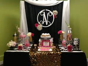 pink and black buffet best 25 table ideas on sweet 16 buffet perth and white marshmallows