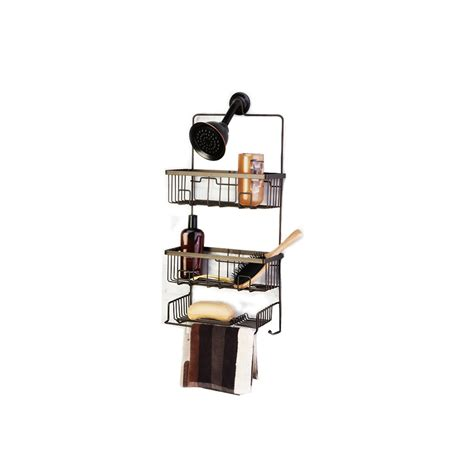 oil rubbed bronze bathtub caddy shop oil rubbed bronze steel bathtub caddy at lowes com