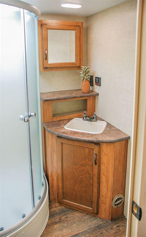 travel trailer bathroom sinks 2016 spree connect c290rls lightweight travel trailer k z rv