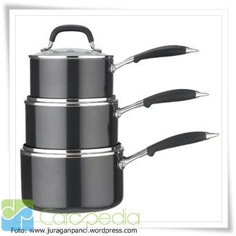 Daftar Panci Biasa alat alat masak keluarga carapedia