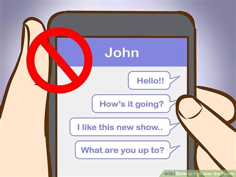 7 Ways To Hes Flirting With You by 3 Ways To Flirt The Phone Wikihow
