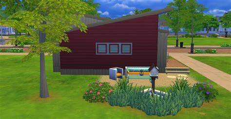 Mod The Sims Super Simple Shower mod the sims small slopes a tiny house starter