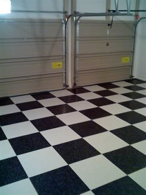 vinyl floor garage installing vinyl composition tile vct garage flooring