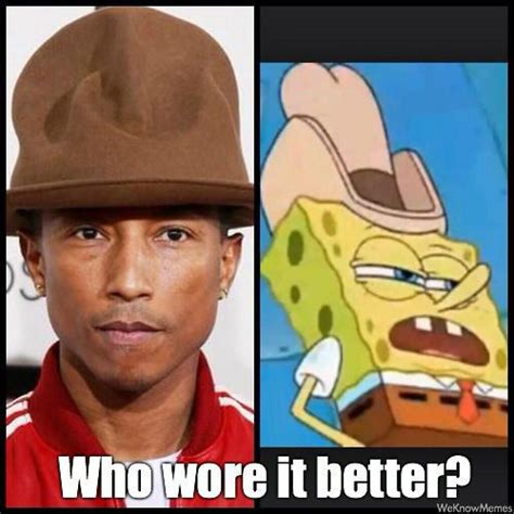 Pharrell Hat Meme - 16 memes that broke the internet in 2014