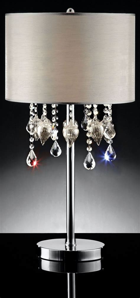 Calypso Hanging Crystal Glass Ornament Table L From