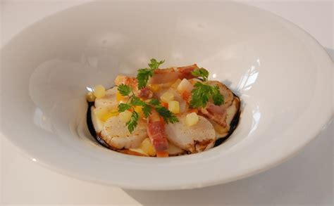 cuisine coquille st jacques coquilles jacques velout 233 de panais brunoise de