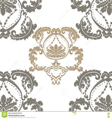 english vintage pattern damask royal ornament pattern in english vintage victorian