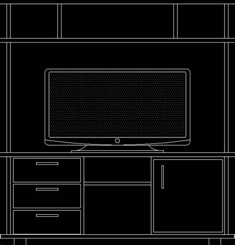 home theater cabinet front view lcd tv  kb