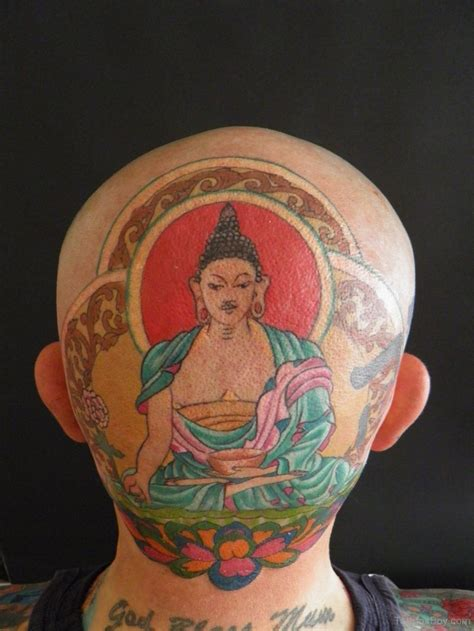 buddha head tattoo designs buddhist tattoos designs pictures