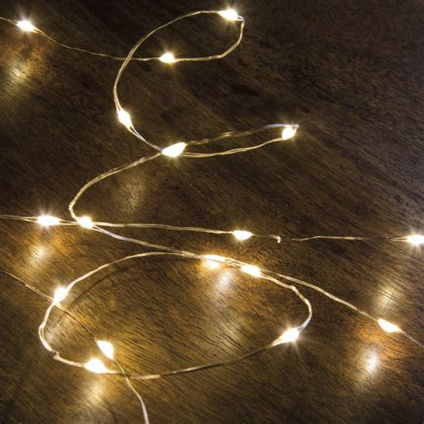 Battery Operated Copper Wire String Lights Primitives By Copper Wire String Lights