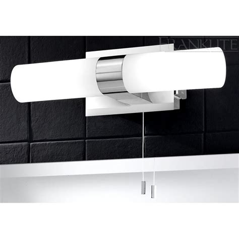 bathroom lights with shaver socket franklite 2 light mirror switched bathroom light with