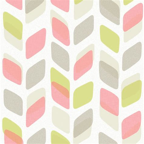 abstract vinyl wallpaper new galerie unplugged abstract leaf pattern retro