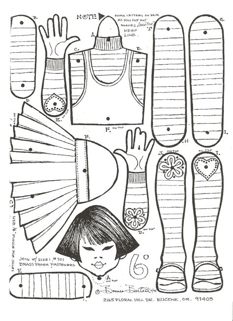 miss missy paper dolls some jointed dolls