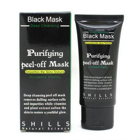 Shills Black Mask Purifying Peel Mask Berkualitas 1 free shipping shills purifying cleansing peel black mask in treatments masks from