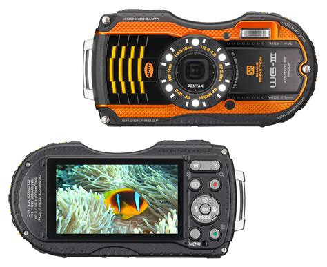 Pentax Wg3 Gps 5 underwater cameras for your next trip fly sights