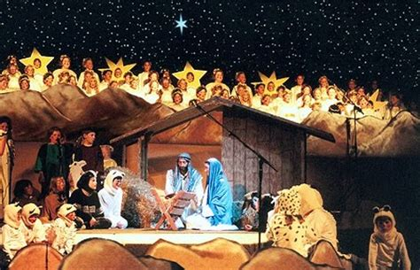 christmas play script jesus kids was jesus born in a barn in anticipation