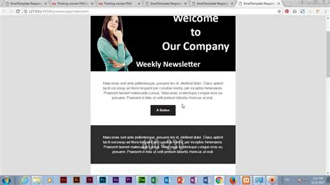 free dreamweaver cc templates email template by adobe dreamweaver cc