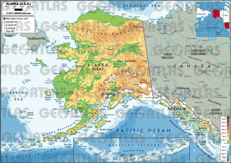 map us canada alaska us map with canada and alaska alaska phy thempfa org
