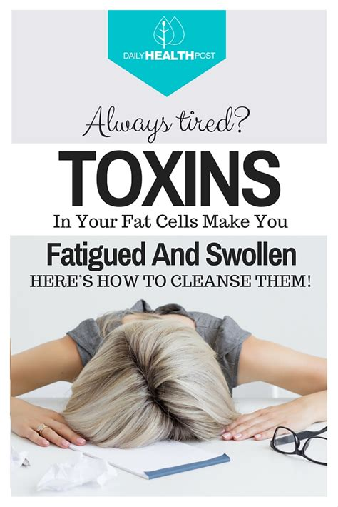 How To Detox From Lead by Toxins Stored In Your Cells Make You Fatigued And