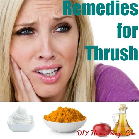effective home remedies for thrush diy home things