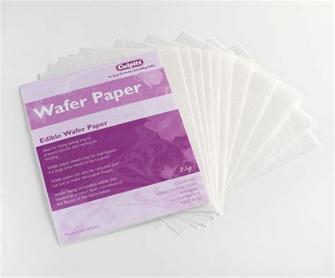 How To Make Edible Paper - edible wafer paper