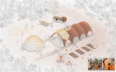 designboom norman foster norman foster plans a droneport for delivering urgent supplies