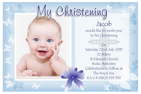 baptism photo card template baptism invitations free baptism invitation template