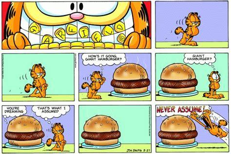 sunday best dishes books hamburger in garfield comic hamburgers do do and