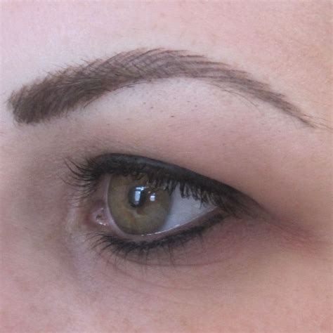 eyeliner tattoo tutorial the 25 best permanent eyebrows ideas on pinterest