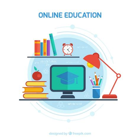 free software education online education vector free download