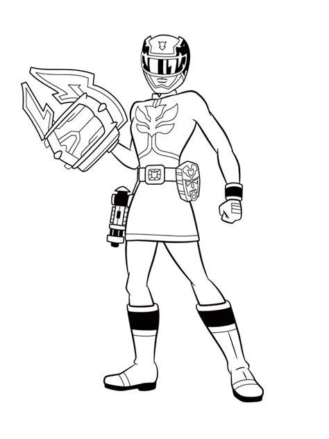 girl power rangers coloring pages power rangers samurai coloring pages for boys to print for