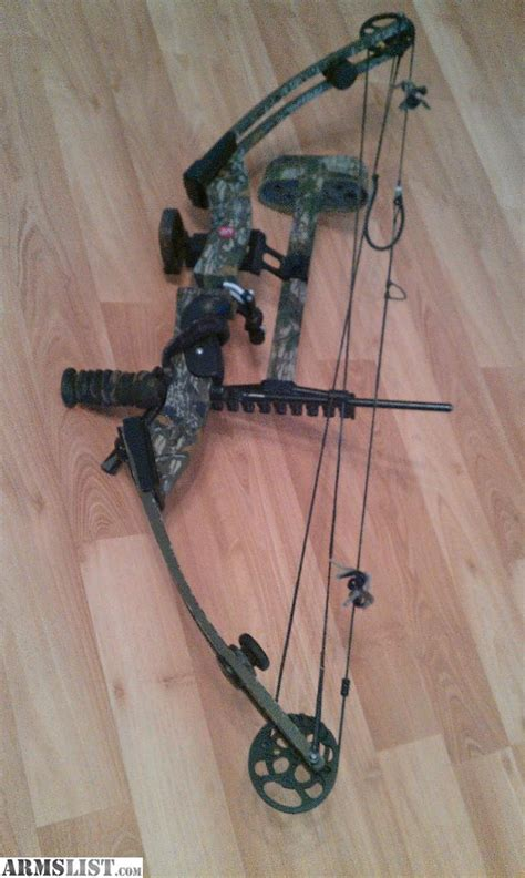 total compound bows pse beast compound bow armslist for sale trade pse the beast mossy oak camo