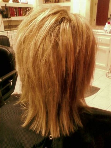 shags with highlights razor haircuts hairstyle heavy blonde highlights and