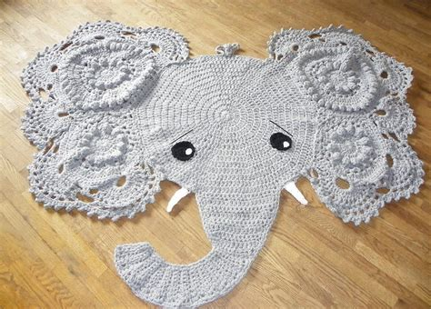 Elephant Rug Baby by Crochet Pattern Elephant Rug Manet For
