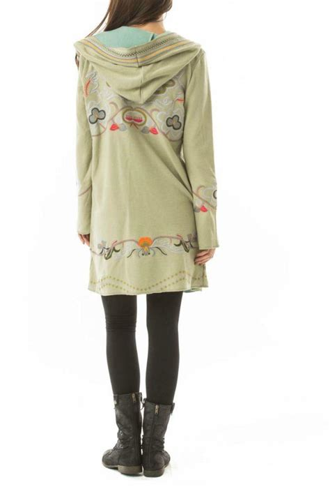 embroidered hooded sweater paparazzi hooded embroidered sweater from new york by gado