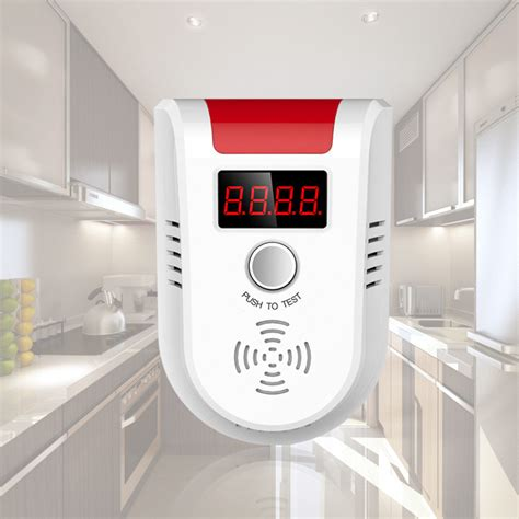 kerui gd13w led gas detector motion sensor digital display