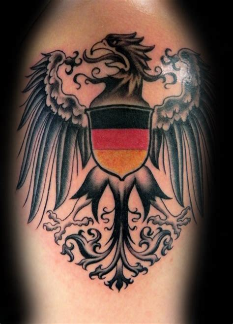 german eagle tattoo designs 50 german eagle designs for germany ink ideas
