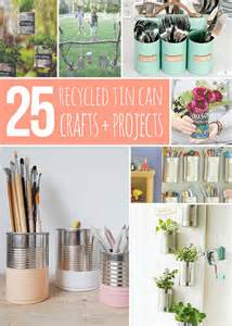 tin can crafts 25 recycled tin can crafts and projects