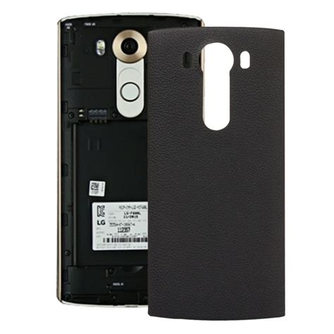 Lg Back Cover For Lg V10 high quality litchi texture battery back cover replacement