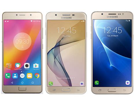 lenovo p2 vs samsung galaxy j7 prime vs samsung galaxy on8 comparison