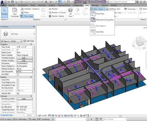 create a blueprint create plans and rcp revit mep 2016 easy2learn