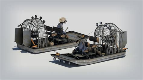 airboat drawings airboat by zombie graves on deviantart