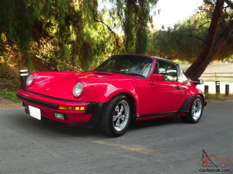 1986 porsche targa for sale porsche 930 turbo look targa carrera