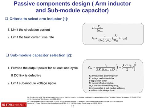 parameter design principle of the arm inductor in modular multilevel converter based hvdc 28