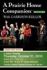 a prairie home companion live in hd now