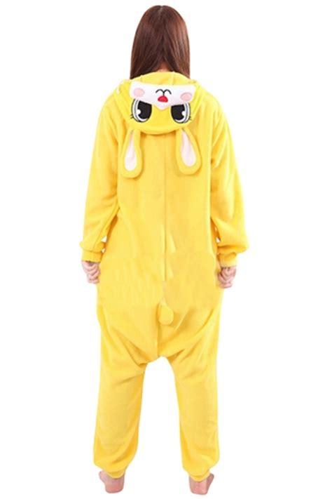 Set Rabbit Legging Import womens warm hooded rabbit pajamas jumpsuit costume