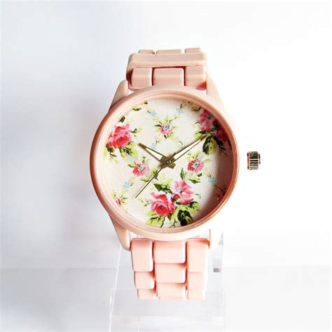 7 Pretty Watches by Pretty In Pink Floral Watches Fashion
