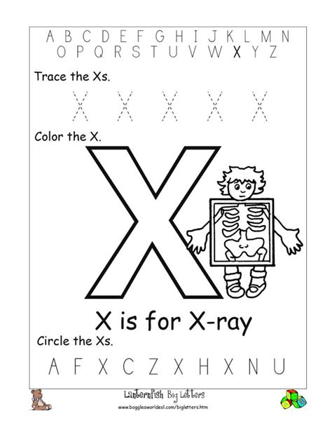printable x worksheets 8 best images of printable letter x worksheets letter x