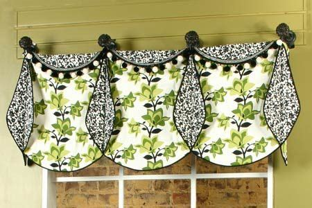 66 Best Cascades And Jabots Images On Pinterest Border Kitchen Curtain Sewing Patterns