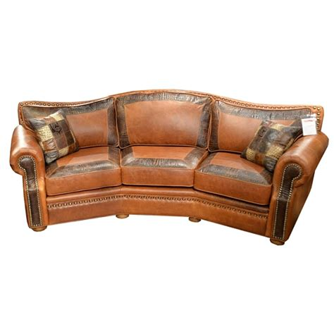 Leather Conversation Sofa Tucson Conversation Sofa By Omnia Leather Usa Made Free Shipping